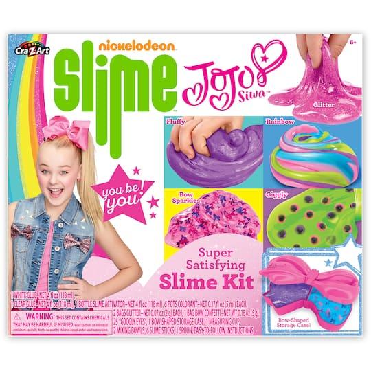 find the nickelodeon slime jojo siwa slime kit at michaels