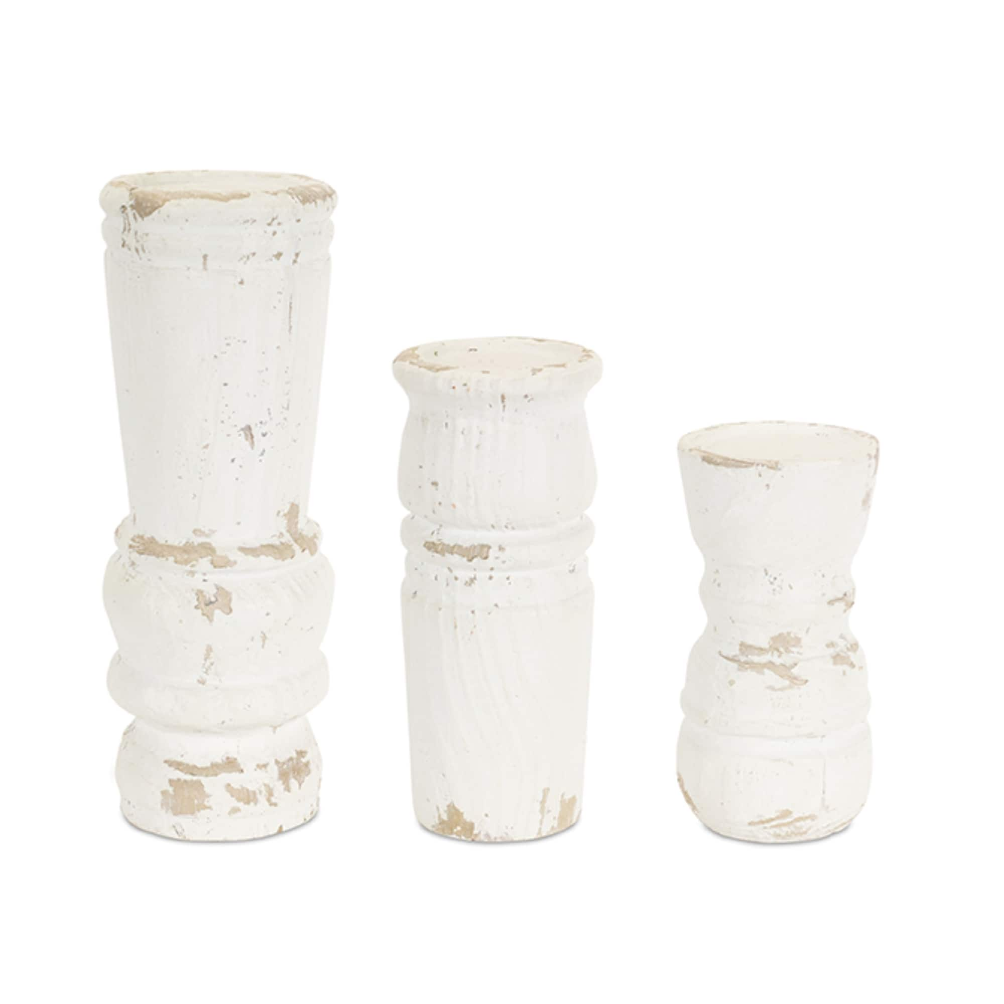 Shop The Resin Candle Holder Set At Michaels