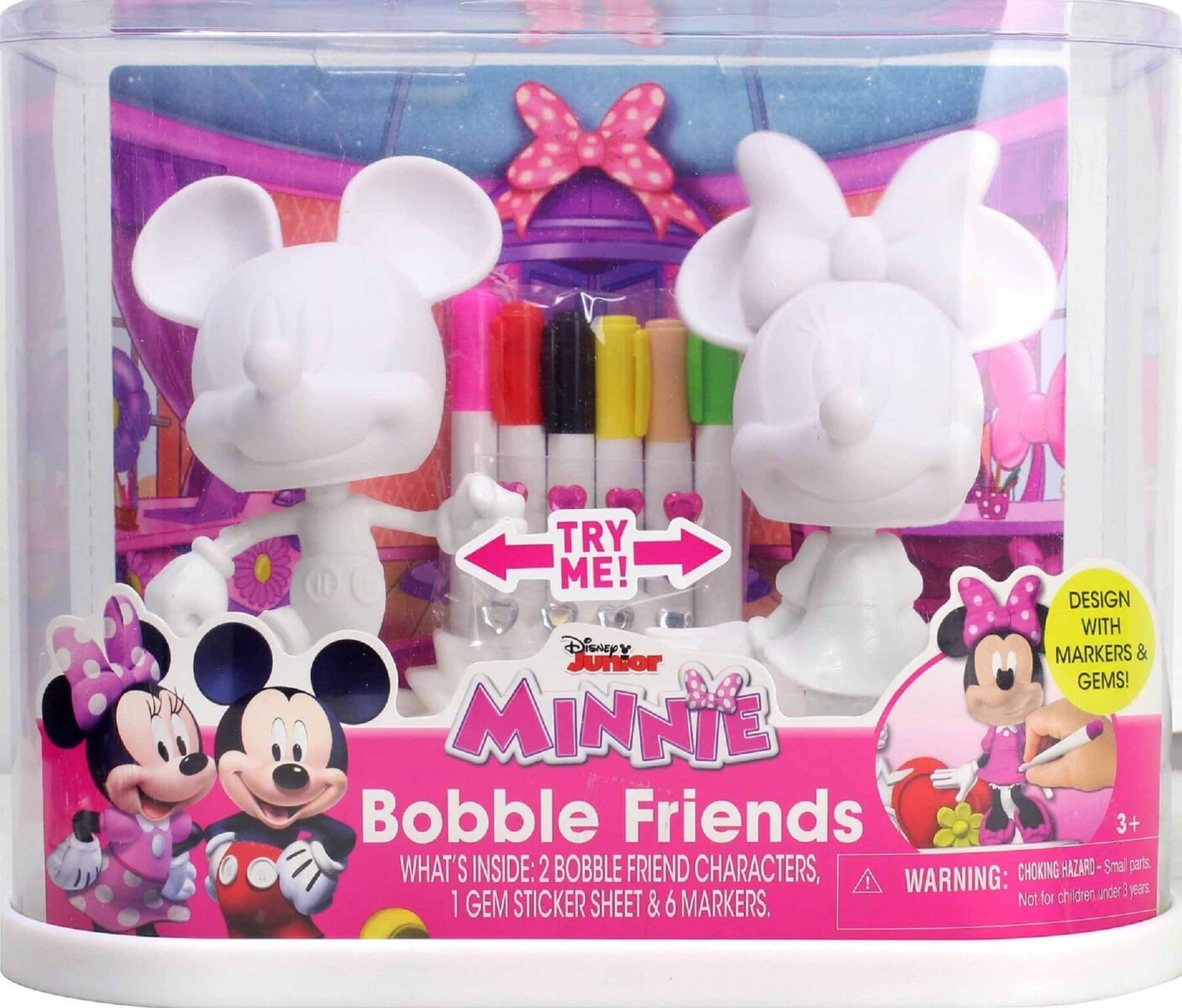 Minnie /& Mickey Bobble Friends
