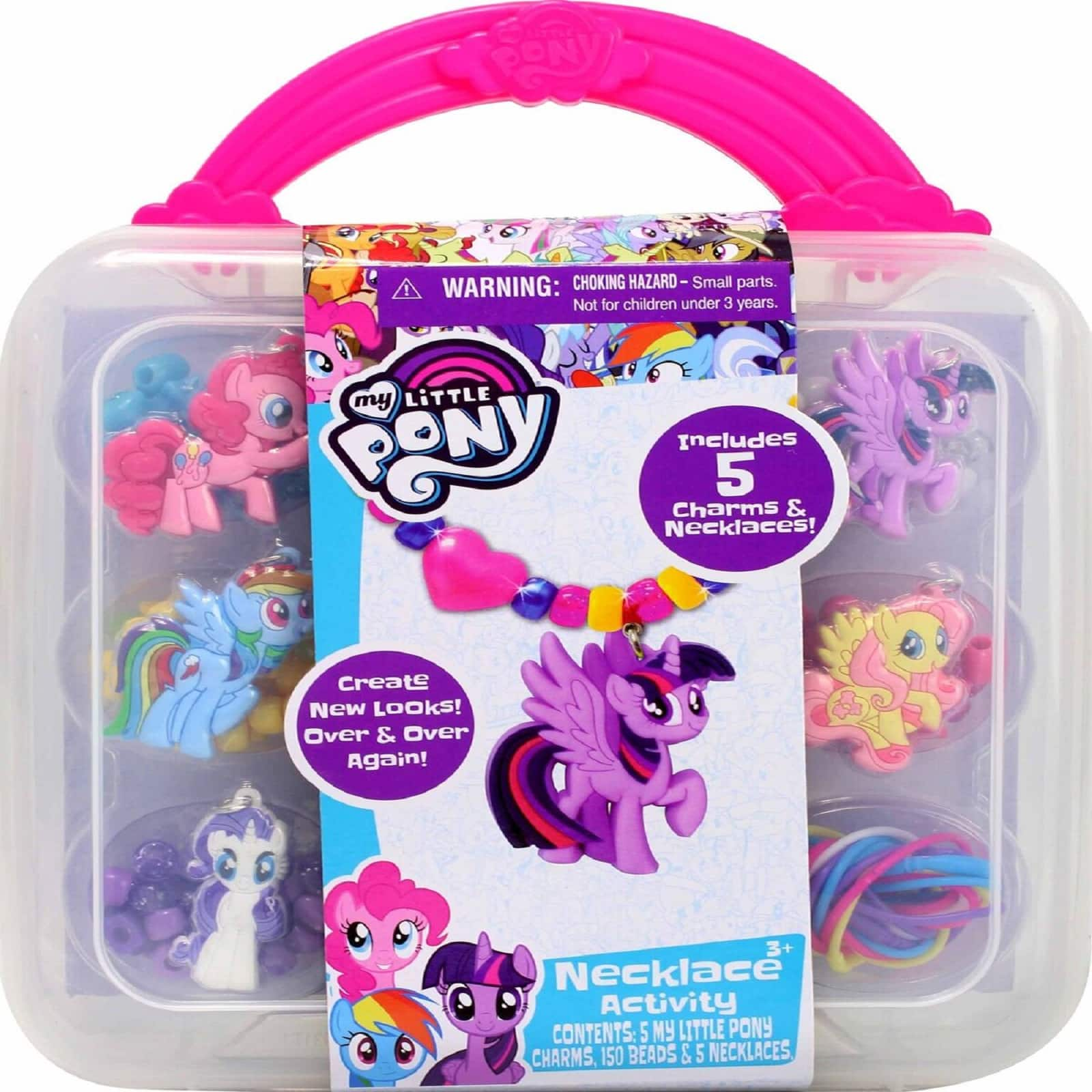 My Little Pony Sticker by Number Set Includes Plastic Display Stand Brand New