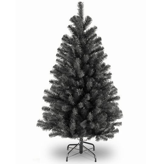 Black Artificial Christmas Trees: Shop The 4.5 Ft. Unlit North Valley® Black Spruce