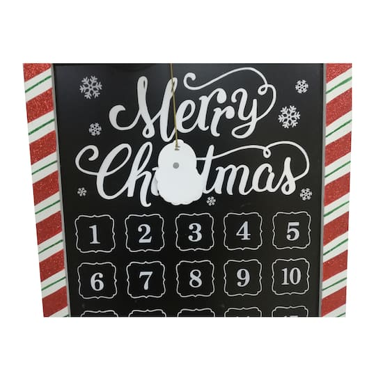 merry christmas countdown wall sign by ashland - Christmas Countdown Sign