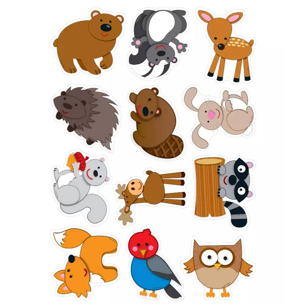 Purchase the Woodland Animals Cut-Outs, 6 Pack at Michaels
