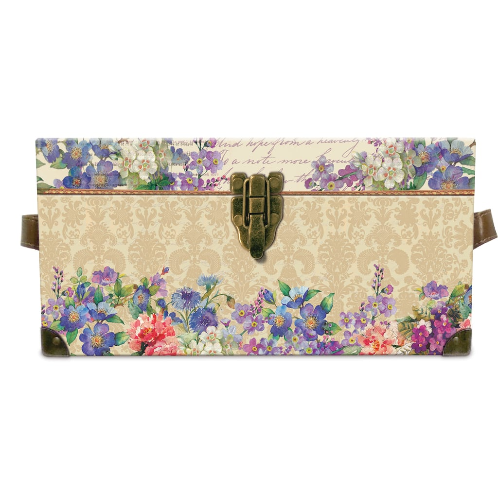 Buy The Small Botanical Scrapbook Flat Trunk By Ashland At Michaels