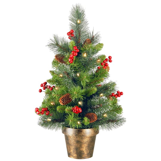 Christmas Berry Tree Hawaii: Find The 2ft. Crestwood Spruce Small Tree With Silver