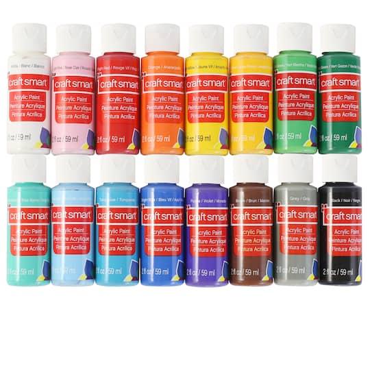 16 Color Matte Acrylic Paint Value Pack By Craft Smart Michaels