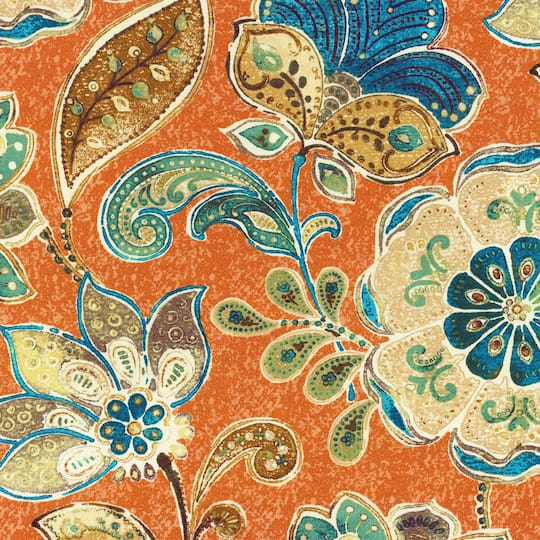 Check Out This Gorgeous Iman Home Javanese Garden Henna Decor Fabric At Michaels