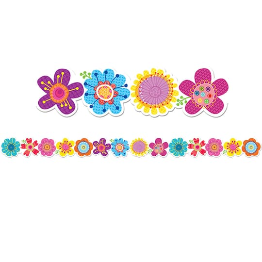 Shop For The Springtime Blooms Border At Michaels