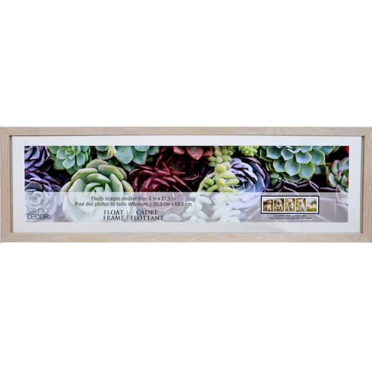 Shop For The Blonde Panoramic Float Frame By Studio D 233 Cor