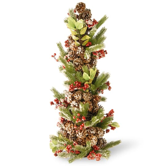 Christmas Berry Tree Hawaii: Shop The 2.75ft. Unlit Evergreen & Pinecone Artificial
