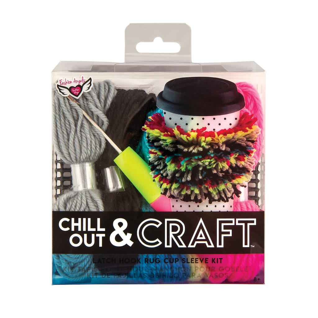 Shop For The Fashion Angels Chill Out Craft Latch Hook Rug Cup