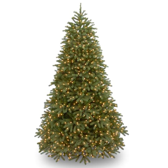 7.5Ft Pre-Lit Jersey Fraser Fir Artificial Christmas Tree, White Led Lights By National Tree Company | Michaels�