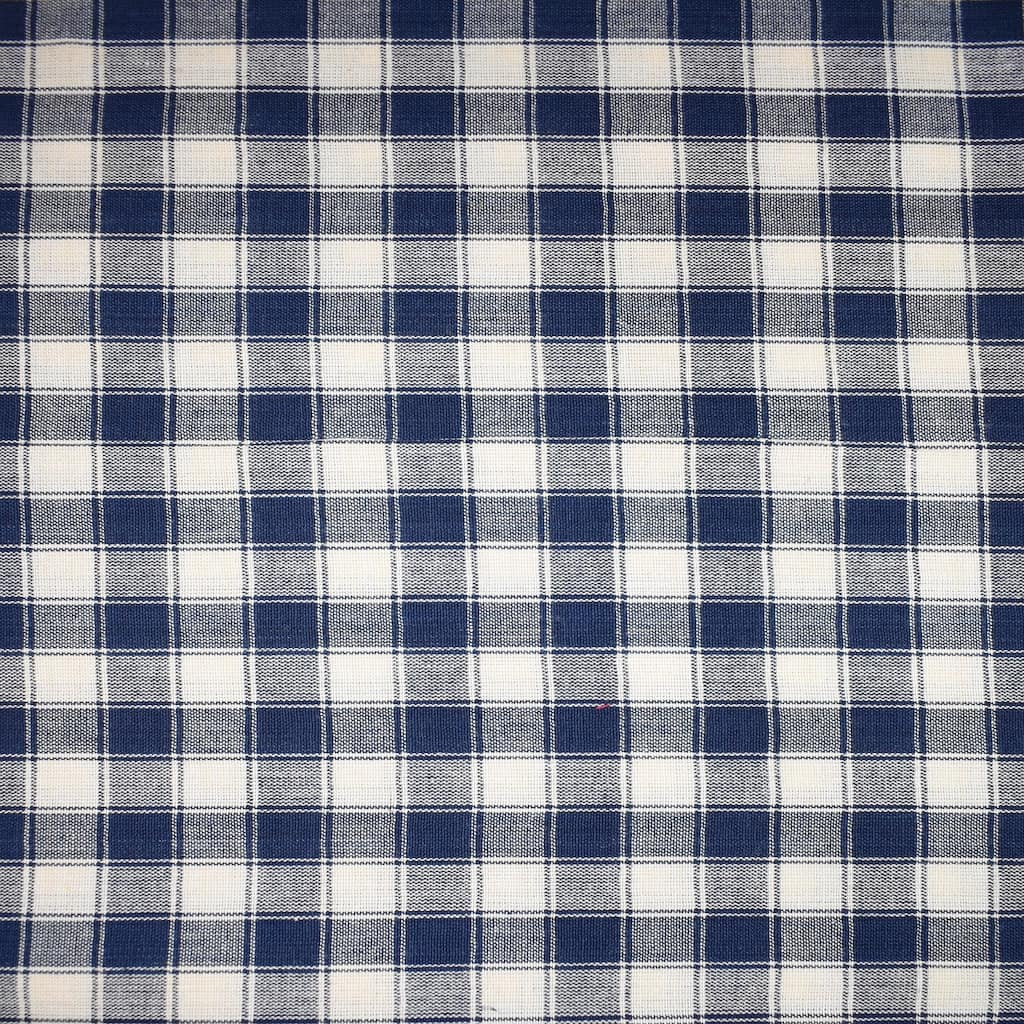 Find the Homespun Navy & Cream Medium Checker Cotton Home Décor Fabric at  Michaels