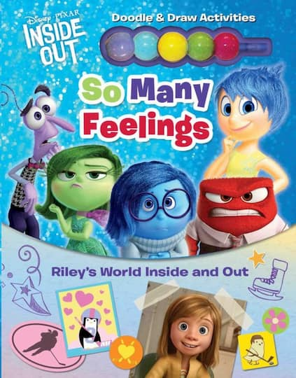Disney© Pixar Inside Out: So Many Feelings: Riley's World Inside and Out