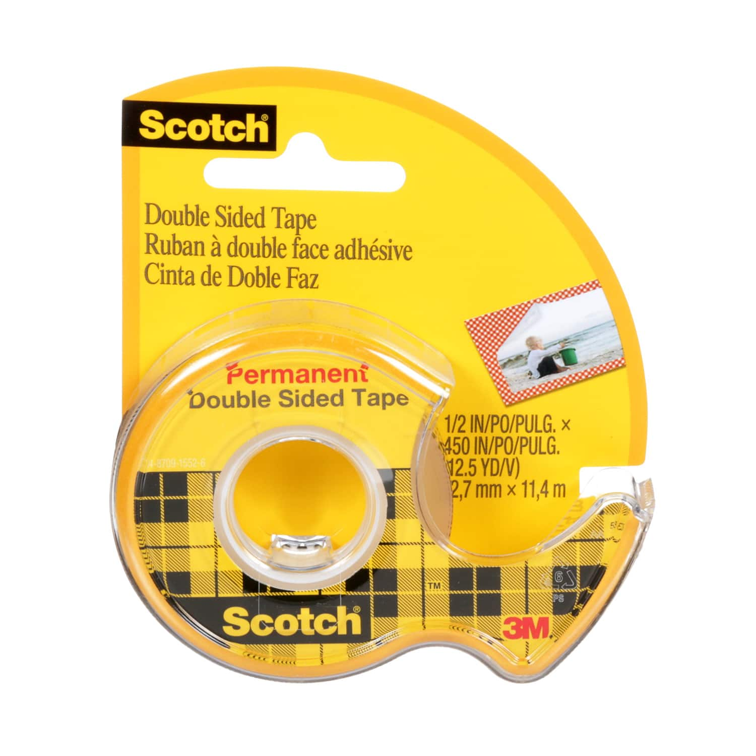 Light Clear Scotch Super-Hold Tape