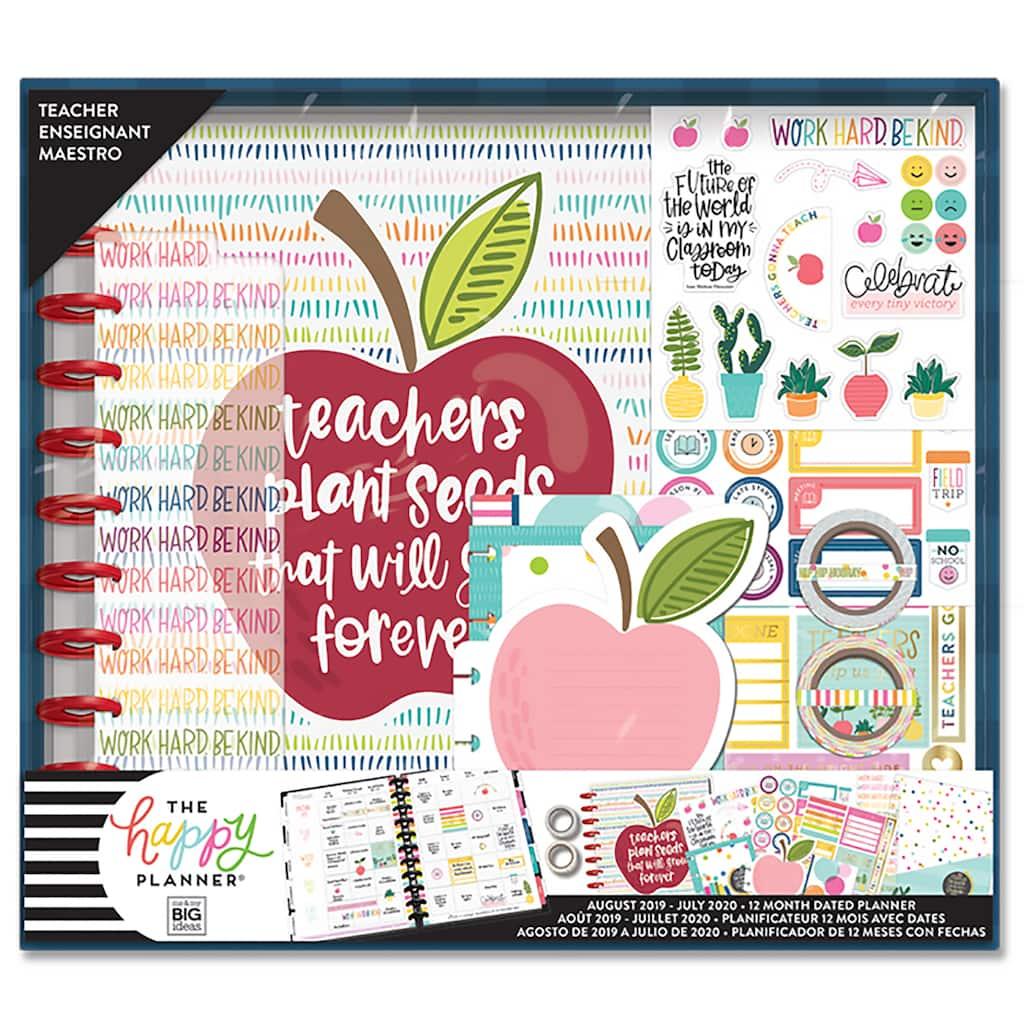 The Big Happy Planner® Plant Seeds Teacher Kit