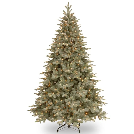 7.5 Ft Pre-Lit Arctic Spruce Artificial Christmas Tree, Clear Lights By National Tree Company | Michaels�