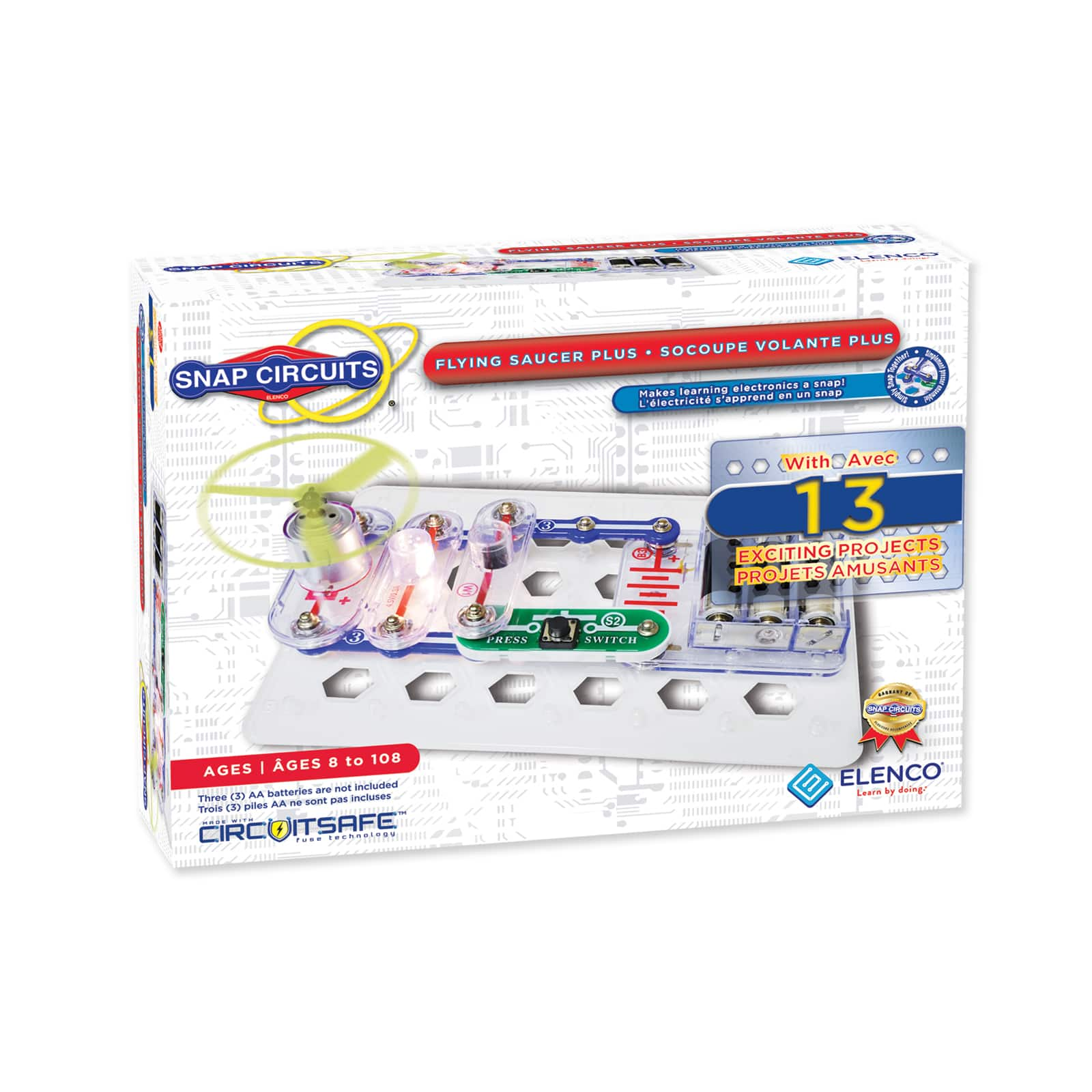 Cool Snap Circuits Flying Saucer Basic Electronics Wiring Diagram Wiring Cloud Hisonuggs Outletorg