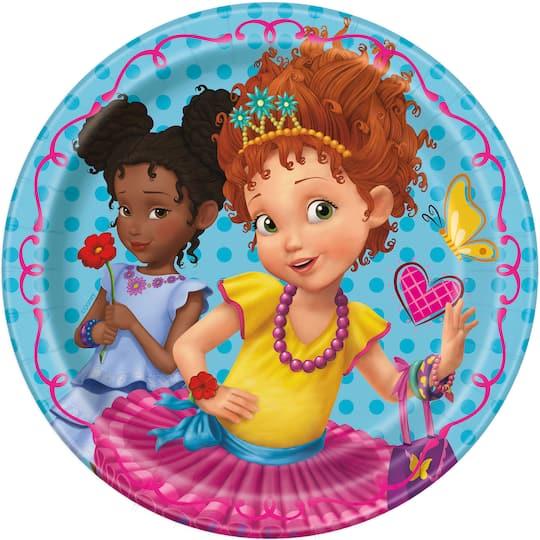 Outstanding Fancy Nancy Birthday Cake Plates Fancy Nancy Party Supplies Funny Birthday Cards Online Overcheapnameinfo