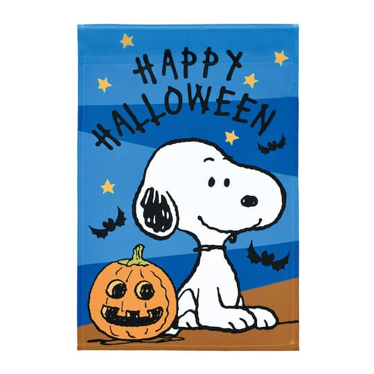 Buy The Peanuts 174 Snoopy Happy Halloween Flag At Michaels