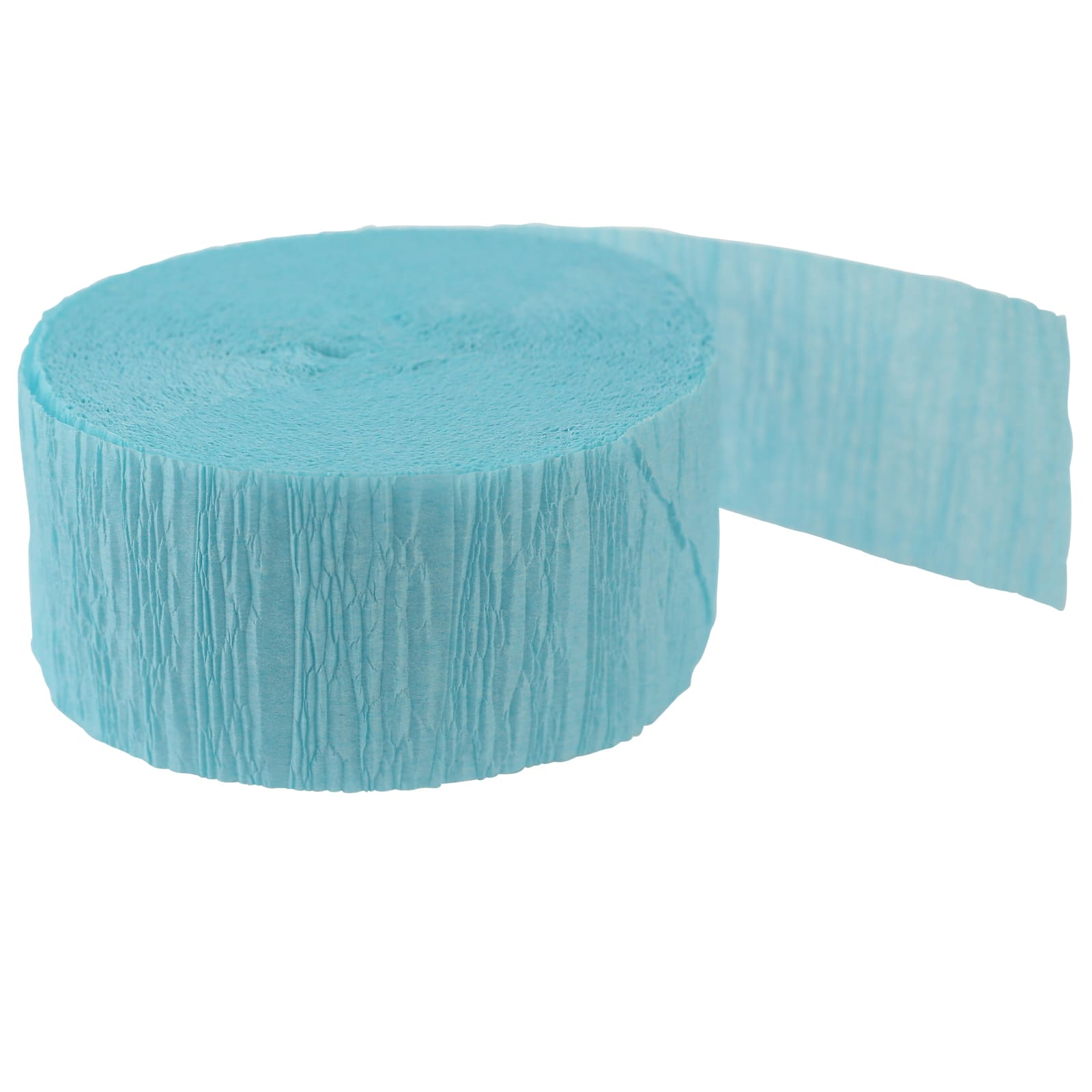 Celebrate Way to Crepe Streamer Turquoise