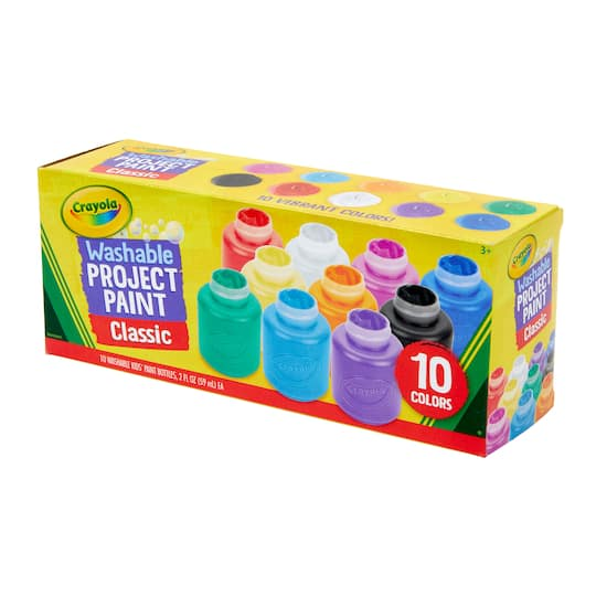 Paint Bundle Crayola Art Collection Great Stay at Home Activity for Kids