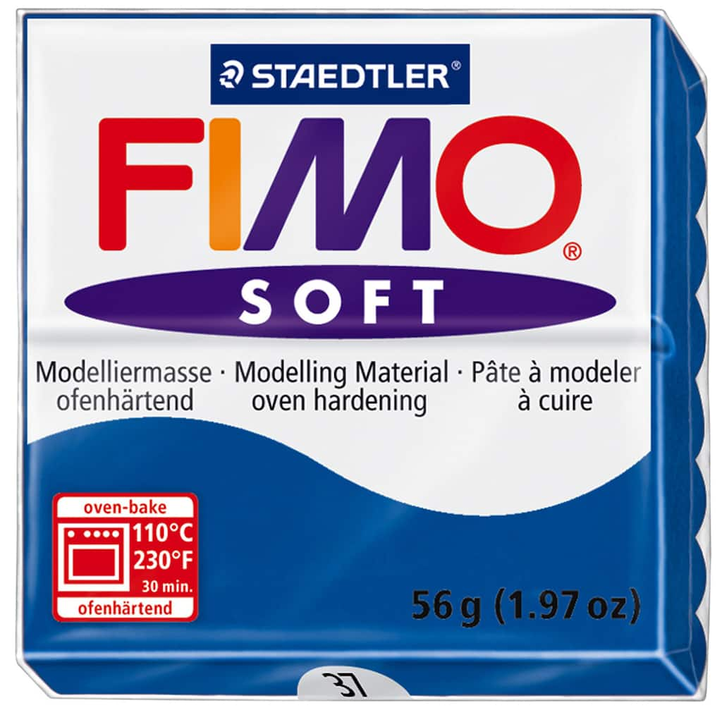 12 Fashion Colors Pack oven-bake Original FIMO® Soft Modelling Clay