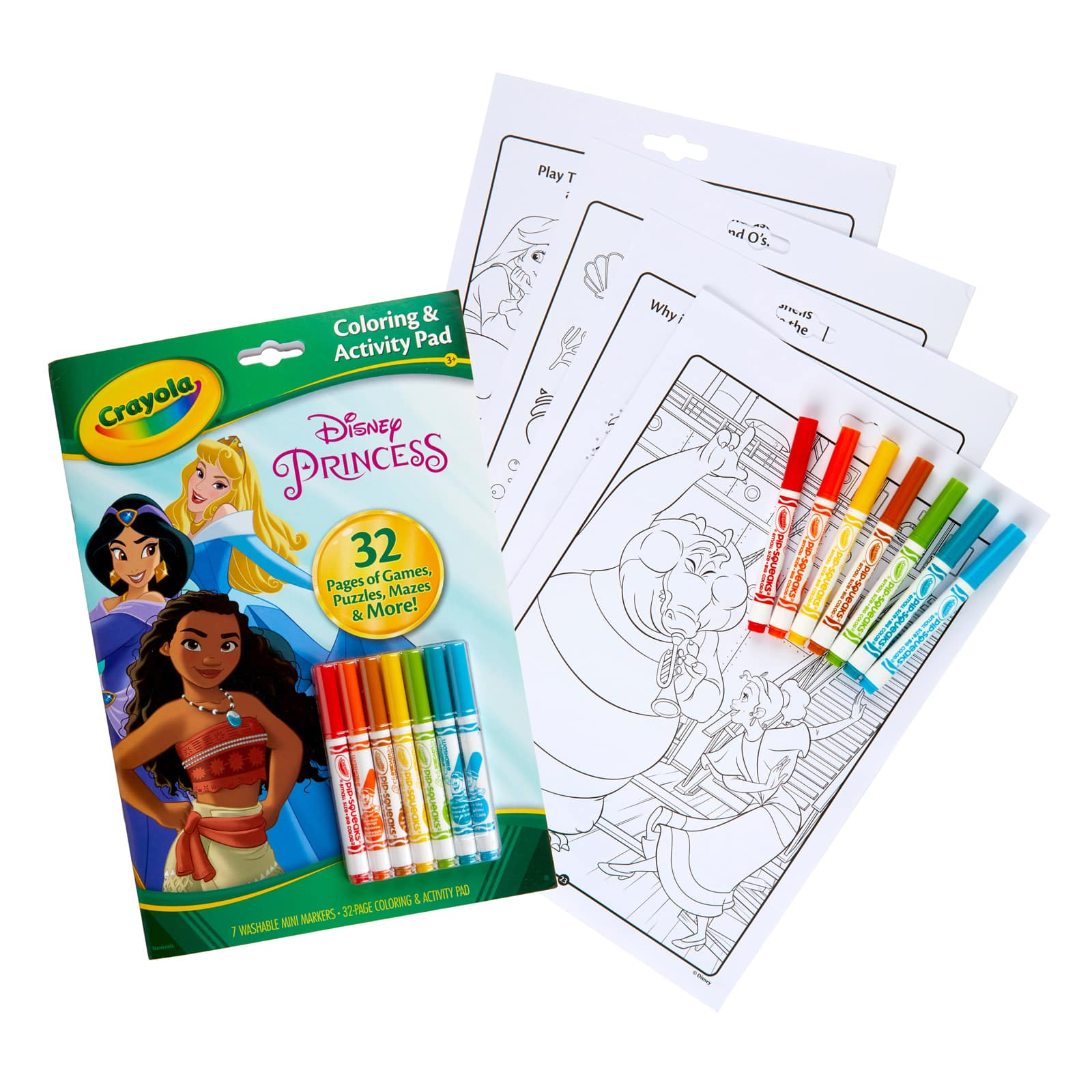 Crayola® Disney® Princess Coloring & Activity Pad Michaels