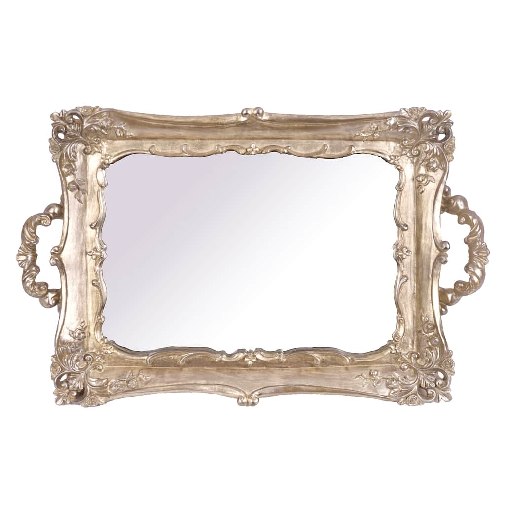 12 25 Gold Mirror Tray Tabletop Accent By Ashland Michaels