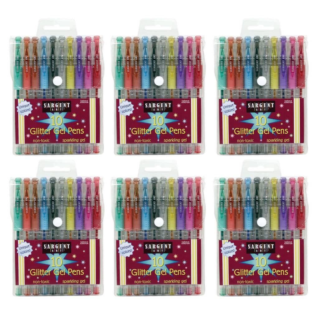 Sargent Art Glitter Gel Pens 10 count