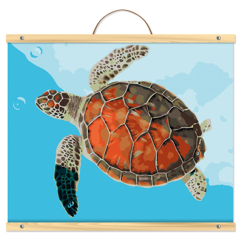 Sea Turtle Paint By Number Kit By Artist S Loft Necessities Michaels
