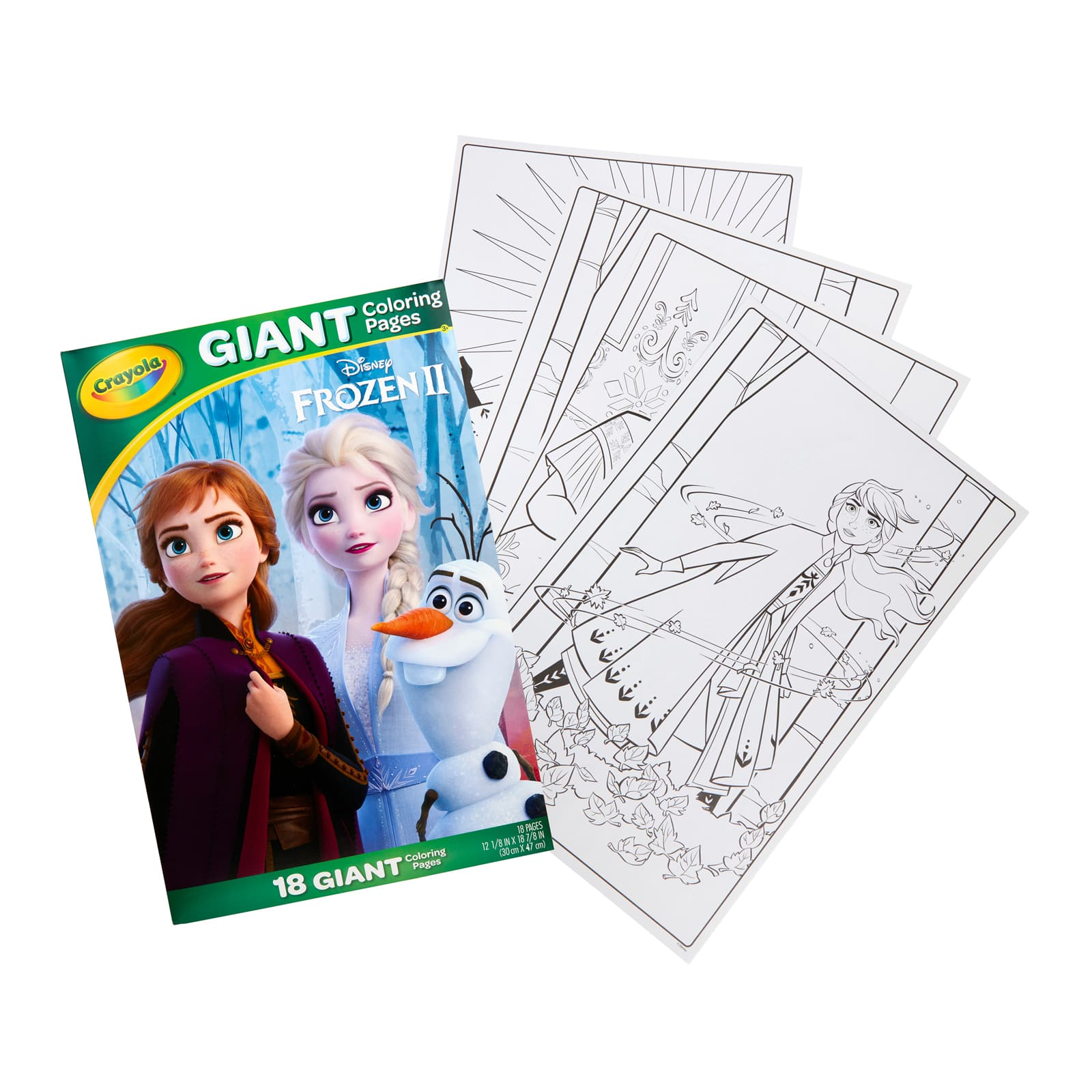 - Crayola® Disney Frozen 2 Giant Coloring Book Michaels