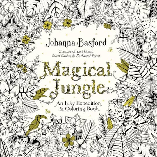 Find the Magical Jungle: An Inky Expedition and Coloring Book at ...