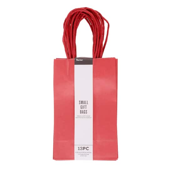 Darice® Red Small Gift Bags, 13ct