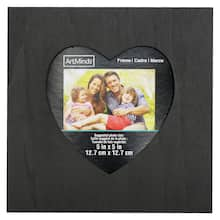 61cd46c8d46 square heart chalkboard frame by artminds™