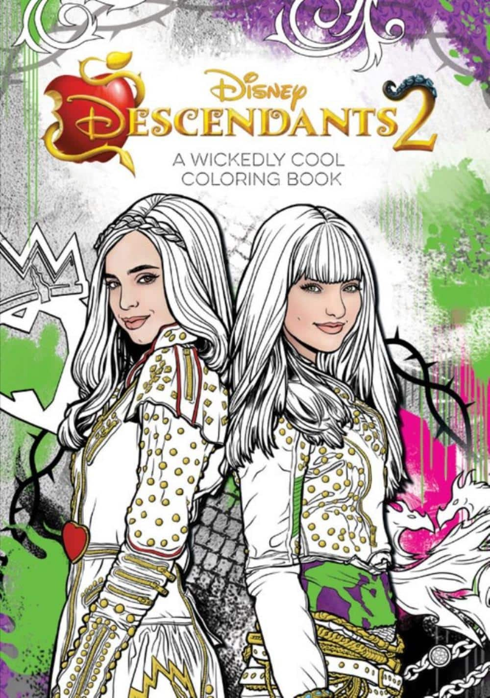 Descendants 2: A Wickedly Cool Coloring Book Michaels