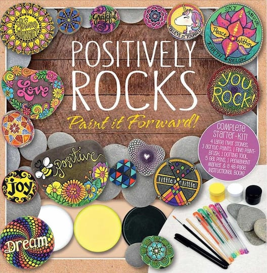 Positively Rocks Paint It Forward!