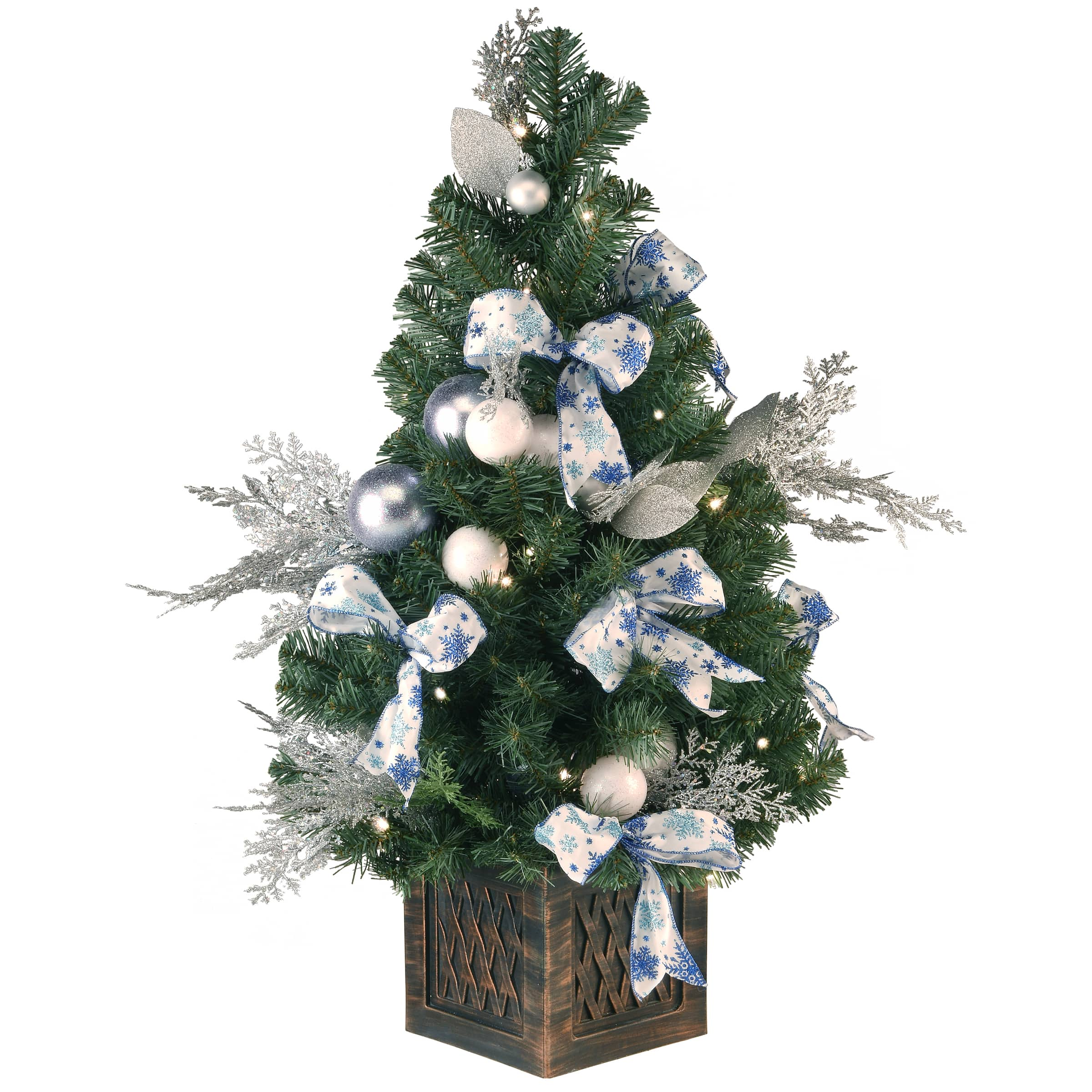 3ft Pre Lit Decorative Collection Ornament Artificial Christmas Tree Clear Lights Michaels