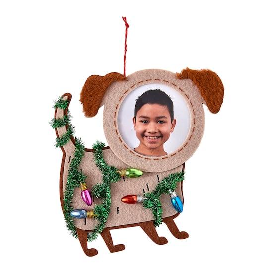Felt Dog Ornament Frame By Studio Decor� | Michaels�