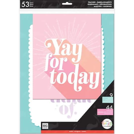 The Happy Planner® Motivational Teacher Pastel Wall Art