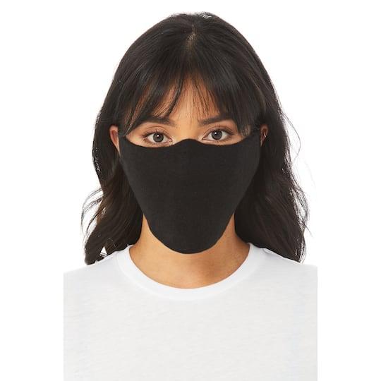 Bella Canvas Black Fleece Face Mask 10 Pack Michaels