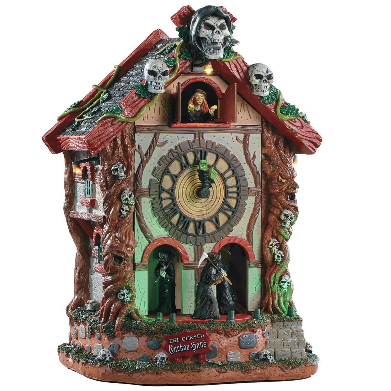 Lemax® Spooky Town® The Cursed Cuckoo Haus by Lemax
