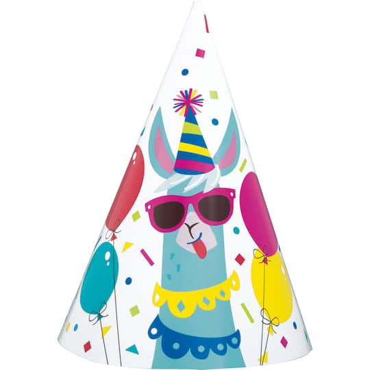 Llama Party Hats Llama Birthday Party Supplies