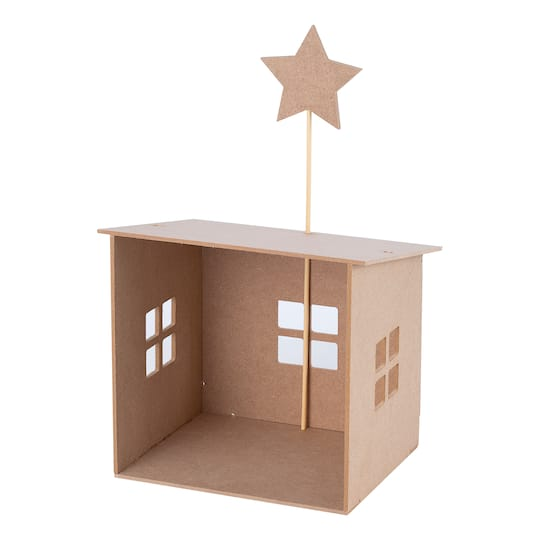 Kids Christmas Craft Kits Wooden Nativity Stable