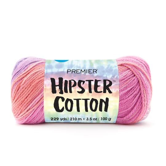 Premier� Yarns Hipster Cotton? Yarn in Melon Berry | 3.5 oz | Michaels�