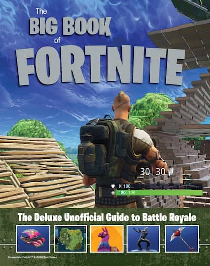Shop For Big Book Of Fortnite The Deluxe Unofficial Guide To Battle