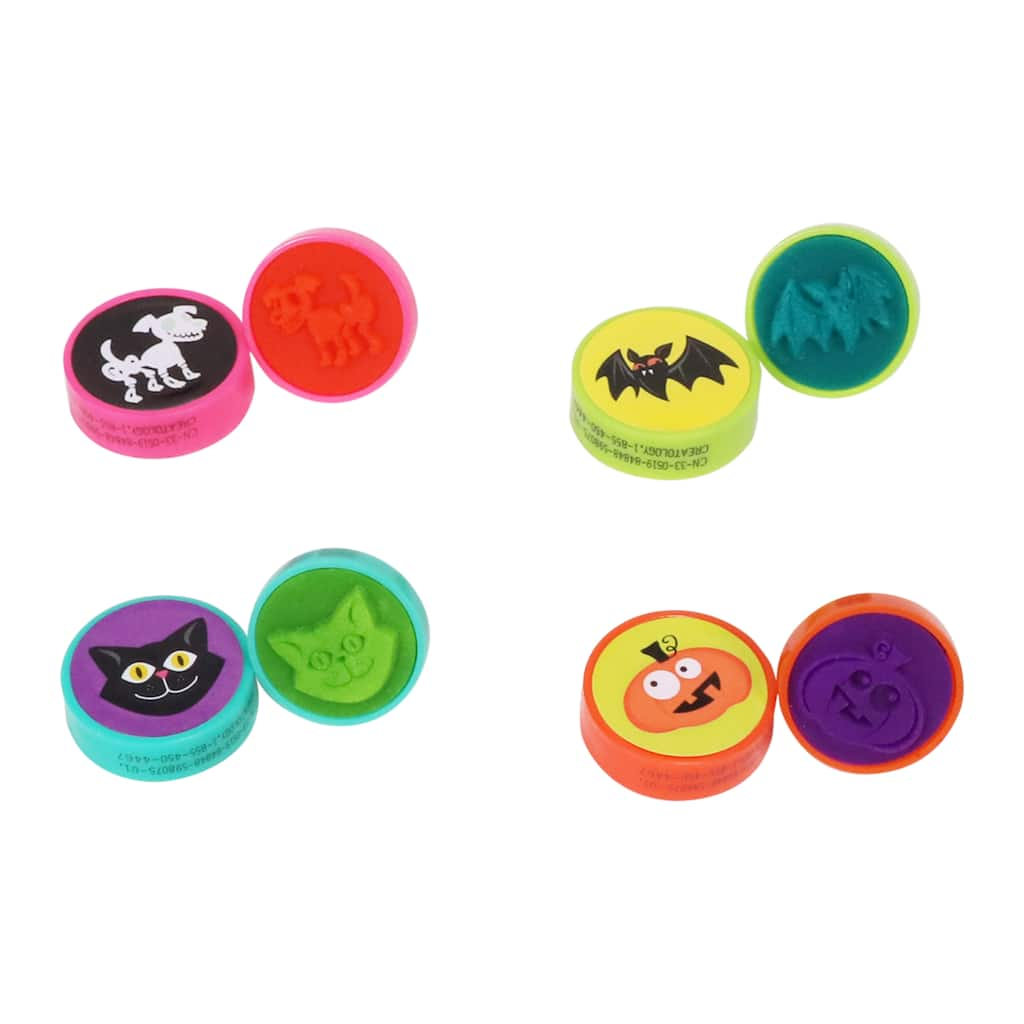Halloween Stamper Rings by Creatology™