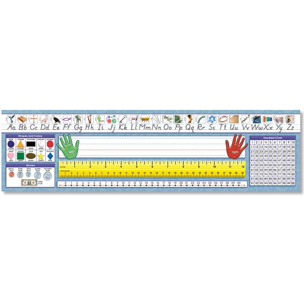 Purchase The North Star Teacher Resource Christian Primary Modern Manuscript Desk Plates 3 Packs Of 36 At Michaels Com