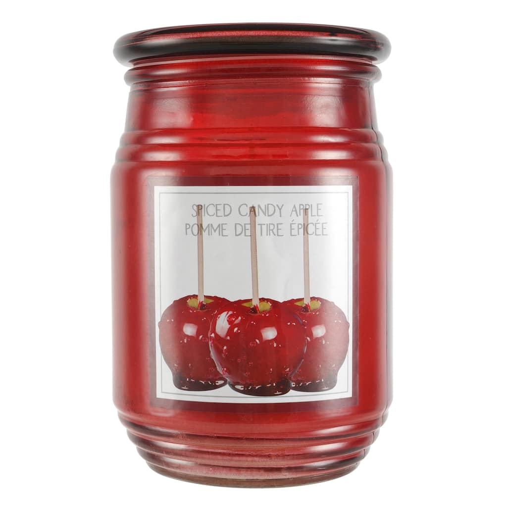 16.4oz Spiced Candy Apple Jar Candle by Ashland® | Michaels