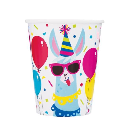 Llama Party Cups Llama Birthday Party Supplies